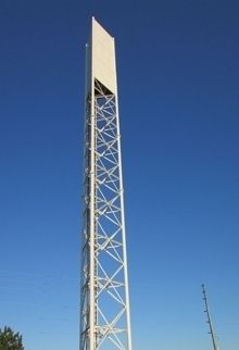 Concealment Telecom Tower Structures Lattice Shrouded