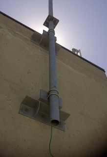 Roof Wall Antenna Mount